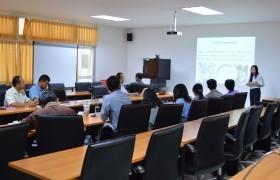 รูปภาพ : ศูนย์วิจัยและพัฒนาผลิตภัณฑ์ปศุสัตว์เชียงใหม่ เข้าหารือความร่วมมืองานบริการวิชาการ ณ อาคาร C2 นวัตกรรมวิทยาลัยฯ