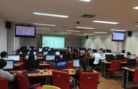 รูปภาพ : โครงการพัฒนาทักษะทางภาษาและสารสนเทศ เพื่อเพิ่มศักยภาพให้กับนักศึกษา ประจำปี 2561