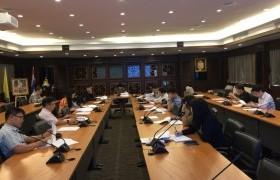 รูปภาพ : การประชุมคณะกรรมการพัฒนาระบบและกลไกการประกันคุณภาพการศึกษา มทร.ล้านนา