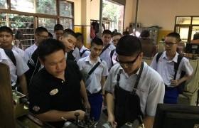 รูปภาพ : วิทยาลัยเทคโนโลยีและสหวิทยาการ ให้การต้อนรับนักเรียนจากโรงเรียนมงฟอร์ตวิทยาลัย ในโอกาสเยี่ยมชมการเรียนการสอน