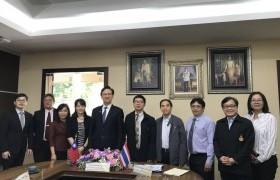 รูปภาพ : การประชุมร่วมกับผู้แทนจากสำนักงานเศรษฐกิจและวัฒนธรรมไทเป ประจำประเทศไทย