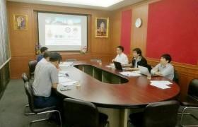 รูปภาพ : บุคลากรวิทยาลัยฯ เข้าร่วมประชุมความร่วมมือหลักสูตรวิศวกรรมเมคาทรอนิกส์ร่วมกับวิทยาลัยเทคนิคเชียงราย