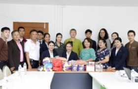 Image : Tourism and Hospitality, RMUTL gave sports equipment to Border Patrol Police School
