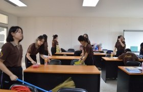 Image : CISAT, RMUTL arranged Big Cleaning Day