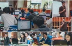 """รูปภาพ : นว.โสตฯ วิทยบริการฯ บรรยายพิเศษ """"การสร้างเว็บไซต์สำเร็จรูปด้วย lnwshop"""""""