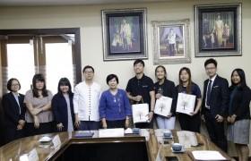 รูปภาพ : อธิการบดีร่วมหารือแนวทางการพัฒนาการศึกษาร่วมกับประเทศสิงคโปร์