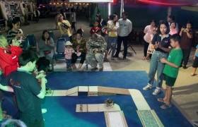 รูปภาพ : หุ่นยนต์ 6 ขาไร้สายด้วยมือถือ ณ บูธ มทร.ล้านนา ตาก งานตากสินมหาราชานุสรณ์