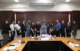 รูปภาพ : การประชุมร่วมกับคณะผู้แทนจาก Singapore Polytechnic (SP) ประเทศสิงคโปร์