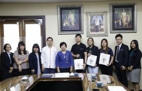 รูปภาพ : การประชุมร่วมกับผู้แทนจาก Nanyang Polytechnic (NYP) ประเทศสิงคโปร์