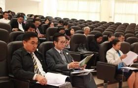 รูปภาพ : การประชุมชี้แจงสนามสอบและเตรียมความพร้อมคณะกรรมการดำเนินการทดสอบการศึกษาระดับชาติ ด้านอาชีวศึกษา (V-NET)