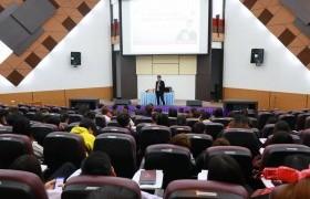 รูปภาพ : สาขาวิชาการจัดการ จัดบรรยายพิเศษ เรื่อง SMEs ปรับตัวอย่างไร? สู่การเป็น SMART ENTERPRISE