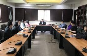 รูปภาพ : การประชุมหารือแนวทางการรับนักศึกษาต่างชาติเพื่อเข้าศึกษาต่อระดับปริญญาตรี