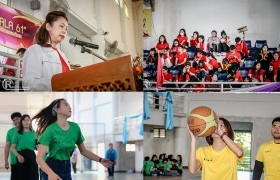 รูปภาพ : สโมสรนักศึกษาคณะบริหารธุรกิจและศิลปศาสตร์ มทร.ล้านนา ลำปาง จัดการแข่งขันกีฬาสีสัมพันธ์ BALA 61 เชื่อมสัมพันธ์ สร้างความสามัคคี ในคณะฯ