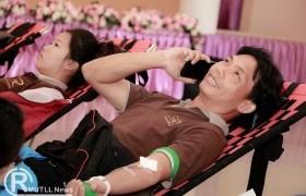 รูปภาพ : มทร.ล้านนา ลำปาง ร่วมกับสาขาบริการโลหิตแห่งชาติ เหล่ากาชาดจังหวัดลำปาง รพ.มะเร็งลำปาง ออกหน่วยรับบริจาคโลหิตเพื่อการกุศล