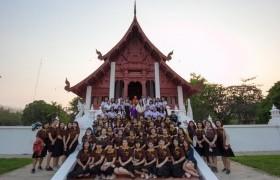 รูปภาพ : โครงการปฏิบัติธรรมส่งเสริมพระพุทธศาสนาแก่นักศึกษา เนื่องในวันมาฆบูชา