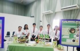 รูปภาพ : นักศึกษาหลักสูตรการผลิตและนวัตกรรมอาหาร คว้ารางวัลชนะเลิศ รอบรองชนะเลิศ ระดับภูมิภาค ในการแข่งขัน Food Innovation Contest 2019