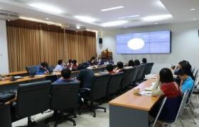 รูปภาพ : ประชุมหารือแนวทางการดำเนินโครงการทุนนวัตกรรมสายอาชีพชั้นสูง