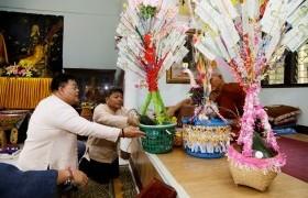 รูปภาพ : มทร.ล้านนา ร่วมทำบุญผ้าป่าสมทบทุนบรรพชาสามเณร อนุรักษ์ถิ่นไทยปี 2562