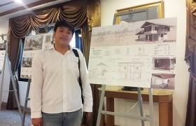 รูปภาพ : นศ.สาขาสถาปัตยกรรม คว้ารางวัลการประกวดบ้านเขียว สอท.
