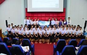 รูปภาพ : การสัมมนาและบริการทางวิชาการสำหรับบัณฑิตนักปฏิบัติในยุค Thailand 4.0 กับโปรแกรม SAP