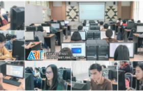 รูปภาพ : สำนักวิทยบริการฯ จัดการทดสอบมาตรฐานด้านเทคโนโลยีสารสนเทศสำหรับนักศึกษาชั้นปีจบ พื้นที่เชียงราย