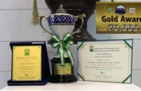 รูปภาพ : รองศาสตราจารย์ ดร.พานิช อินต๊ะ และทีมงาน RUEE RMUTL คว้ารางวัล GOLD Award ในงานมหกรรมงานวิจัยแห่งชาติ 2562