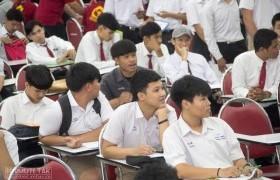 รูปภาพ : การสอบสัมภาษณ์นักศึกษาใหม่รอบ TCAS2