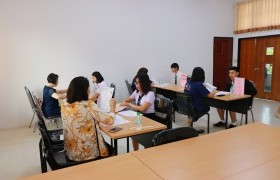 รูปภาพ : ภาพบรรยากาศการสอบสัมภาษณ์นักศึกษาใหม่ รอบ TCAS 2 ประจำปีการศึกษา 2562