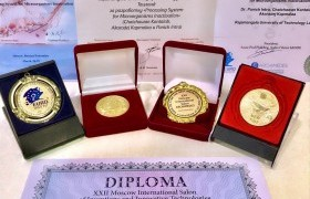 Image : Assoc. Prof. Dr. Panich Inta or Dr. Pulse Pro got 4 World Innovation Rewards at Moscow, Russia