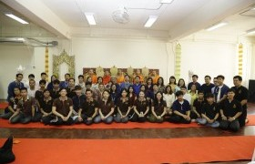 Image : The Student Union of RMUTL held Thai Traditional New Year's Day