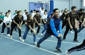 Image : RMUTL students joined Sports for Health activity and Recreation (Role Model)