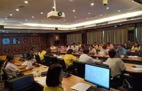 รูปภาพ : ศูนย์วัฒนธรรมศึกษา จัดการประชุมเตรียมงานโครงการสืบสานประเพณีปีใหม่เมือง วัฒนธรรมสานสัมพันธ์องค์กร ประจำปี 2562 ครั้งที่ 2