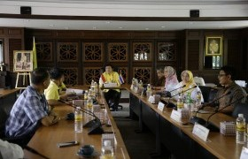 Image : The representatives of Brawijaya University, Indonesia joined to consult about the academic cooperation development