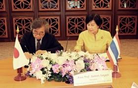 รูปภาพ :  มทร.ล้านนา ลงนามบันทึกข้อตกลงความร่วมมือทางวิชาการกับ National Institu te of Technology (Tsuruoka College) จากประเทศญี่ปุ่น