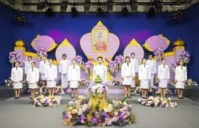 รูปภาพ : บันทึกเทปถวายพระพรชัยมงคล เนื่องในวันคล้ายวันเฉลมพระชนมพรรษา สมเด็จพระนางเจ้าสุทิดา พัชรสุธาพิมลลักษณ พระบรมราชินี