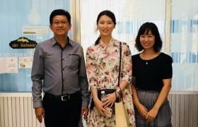 รูปภาพ : ต้อนรับ อาจารย์อาสาสมัครจากประเทศเกาหลี  ขององค์การความร่วมมือระหว่างประเทศของเกาหลี (Korea International  Cooperation Agency:KOICA) ประจำประเทศไทย