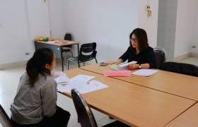 รูปภาพ : ภาพบรรยากาศการสอบสัมภาษณ์นักศึกษาใหม่ ประจำปีการศึกษา 2562 รอบ TCAS 5