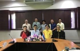 รูปภาพ : การประชุมร่วมกับคณะผู้แทนจาก Shanghai Jiao Tong University สาธารณรัฐประชาชนจีน
