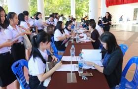รูปภาพ : ภาพบรรยากาศการรายงานตัวนักศึกษาใหม่ ประจำปีการศึกษา 2562