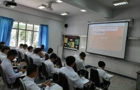 รูปภาพ : ภาพบรรยากาศการเรียนการสอนปรับพื้นฐานภาษาอังกฤษวันที่สอง นักศึกษาใหม่ 2562