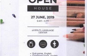 รูปภาพ : งานเปิดบ้านศูนย์ภาษา (Open House) ประจำปีการศึกษา 2562