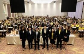 รูปภาพ : ผู้บริหาร มทร.ล้านนา เชียงราย เข้าร่วมการประชุมสัมมนานายจ้างมีหน้าที่นำส่งเงินตาม พ.ร.บ. กยศ. พ.ศ. 2560 ต้องทำอย่างไร
