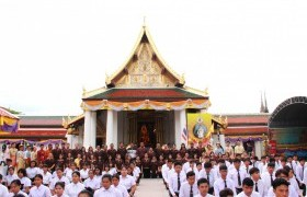 รูปภาพ : ราชมงคลบ้านกร่างร่วมใจ น้อมสักการะสิ่งศักดิ์สิทธิ์เมืองพิษณุโลก ประจำปีการศึกษา2562