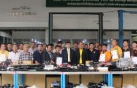 รูปภาพ : อาจารย์สาขาวิศวกรรมเครื่องกล เข้าร่วมโครงการอบรม Thai Meister Automotive ตามมาตรฐาน เยอรมัน