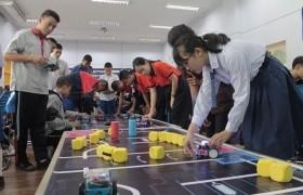 รูปภาพ : มทร.ล้านนา เชียงราย ร่วมกับ บริษัท อิมเมจิเนียริ่ง เอ็ดดูเคชั่น จำกัด จัดอบรม mBot Starter Challenge 2019 (การแข่งขันอัจฉริยะสมองกล)