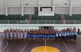 รูปภาพ : นักศึกษาสาขาวิศวกรรมโยธาและสิ่งแวดล้อม จักกิจกรรมกีฬา Freshy ประจำปีการศึกษา 2562