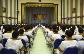 รูปภาพ : พิธีซ้อมรับพระราชทานปริญญาบัตรแก่ผู้สำเร็จการศึกษา ประจำปีการศึกษา 2561