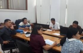 รูปภาพ : การประชุมชี้แจงการจัดทำข้อเสนอโครงการวิจัยปี 2564