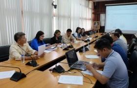 รูปภาพ : ศูนย์วัฒนธรรมศึกษา จัดการประชุมเตรียมความพร้อมในการเข้าร่วมกิจกรรมประกวดขบวนกระทงใหญ่ ประจำปี พ.ศ.2562 ครั้งที่ 2