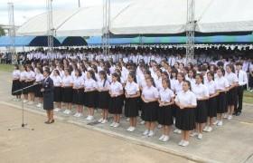 รูปภาพ : พิธีไหว้ครูและบายศรีสู่ขวัญนักศึกษาใหม่ ปีการศึกษา 2562